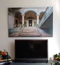 Photo de nos clients: L'entrée abandonnée de Beelitz sur Truus Nijland, sur toile