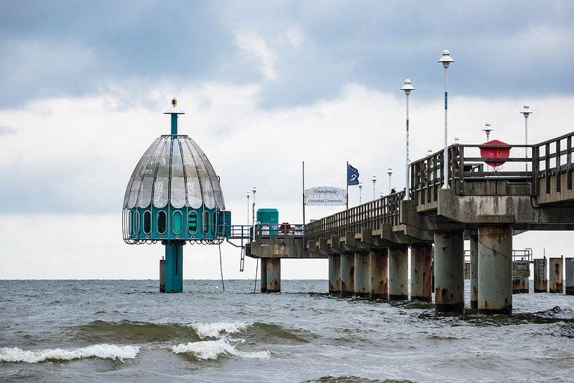 Pier in Zinnowitz van Rico Ködder