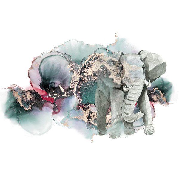 Olifantendroom van Karin Schwarzgruber