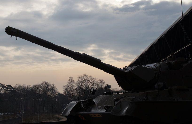 Leopard Tank, Nationaal Militair Museum, Soest van Maurits Bredius