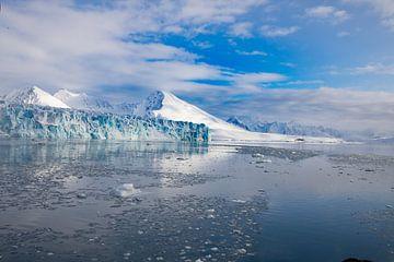 Gletsjer op Spitsbergen von Marieke Funke