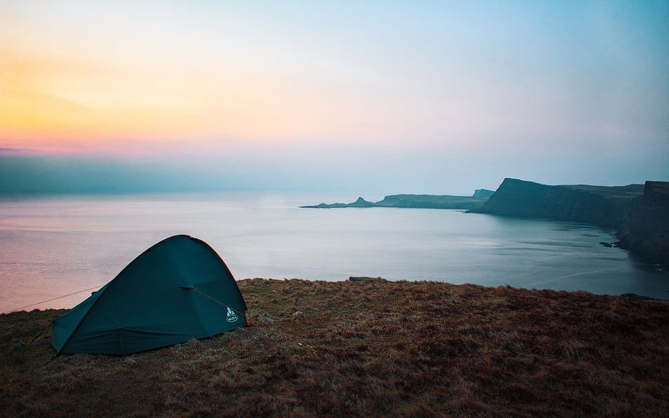 Camping near Neist Point van Luis Fernando Valdés Villarreal Boullosa