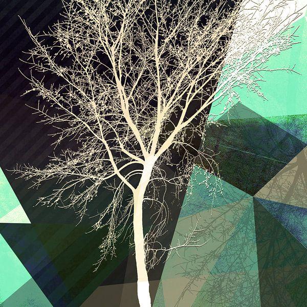 LONELY TREE v2 van Pia Schneider