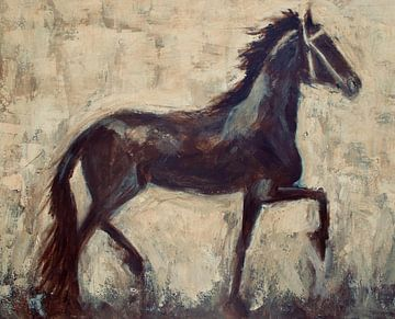 Fries paard van Mieke Daenen