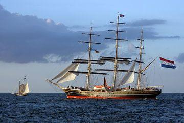 Vollschiff Stad Amsterdam von Ingo Rasch