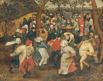 Bauernhochzeit, Nach Pieter Brueghel dem Älteren