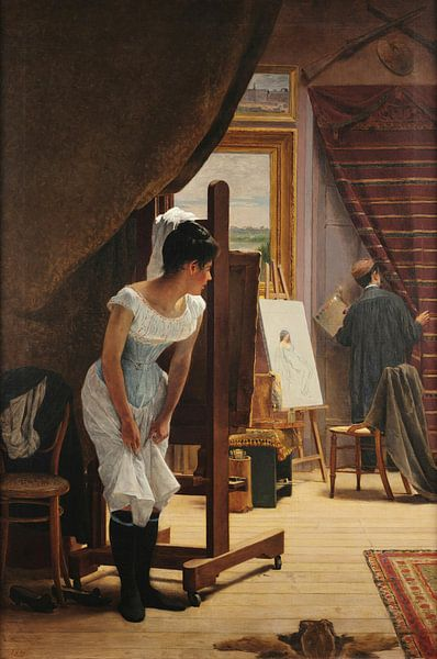 Almeida Júnior, Die Bedeutungslosigkeit, 1898 von Atelier Liesjes