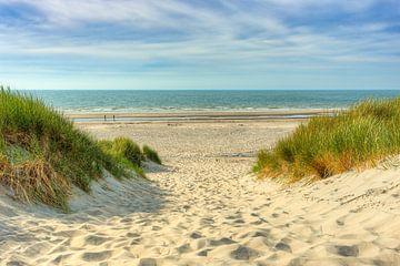 Weg naar het strand van Michael Valjak
