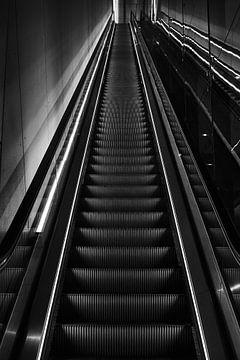 Rolltreppe auf der Anlage von Bart Rondeel