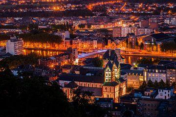 Luik by nacht  van