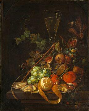 Stilllebenmalerei mit Früchten, Jan Davidsz. de Heem & Cornelis de Heem