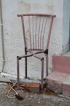 Geraamte van stoel
