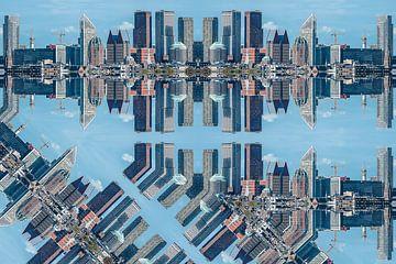 Bâtiments à La Haye différents 00 sur Hans Levendig