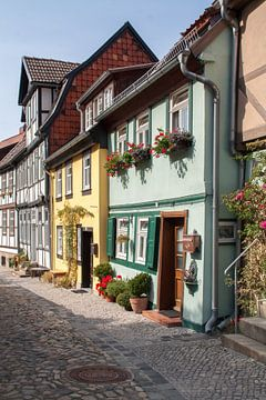 Vakwerkhuizen in Quedlinburg von Marrit Molenaar