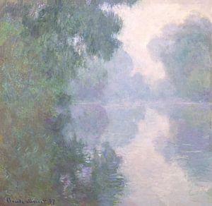 Die Seine bei Giverny, Morgennebel, Claude Monet