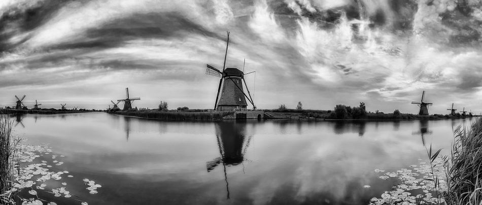 Kinderdijk Panorama van Joram Janssen