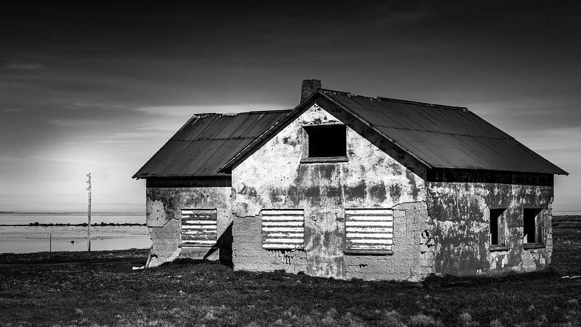 Verlaten huis: IJsland van Hans van Wijk