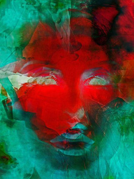 The red face van Gabi Hampe
