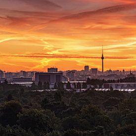 Berlijn skyline van Frank Herrmann