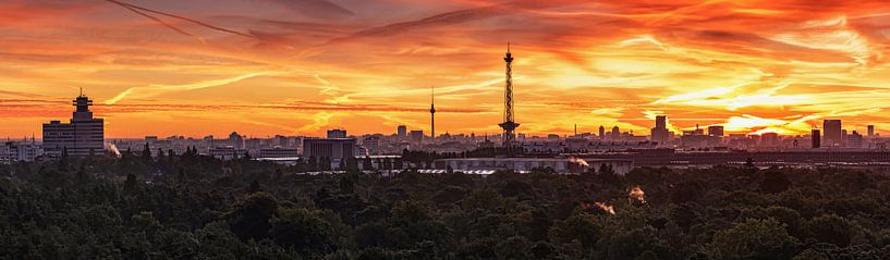 Berlin City Skyline sur Frank Herrmann