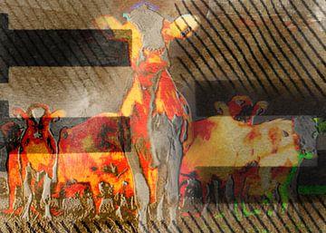 Animals, De koe van Kirsti's Kunst