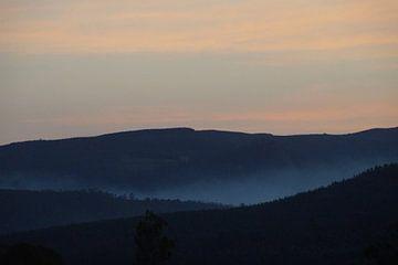 Vergezicht Mlilwane, Swaziland / View Mlilwane, Swaziland von Maurits Bredius