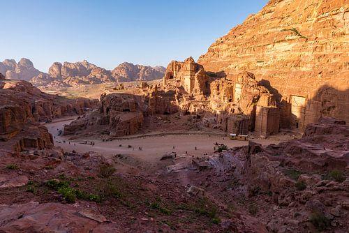 Petra - Jordanië van Jack Koning