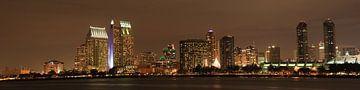 Skyline San Diego von Leo Roest
