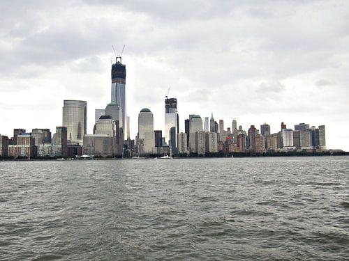 Skyline van New York von Dennis de Wit