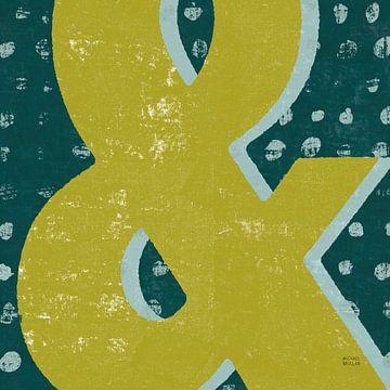 Punctuated Square II Retro, Michael Mullan van Wild Apple