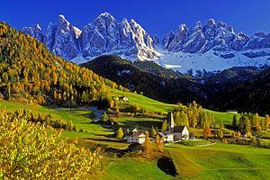 Geislerspitzen, Villnösstal, Südtirol van