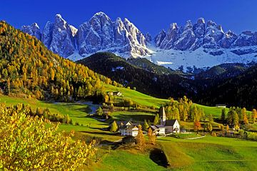 Geislerspitzen, Villnösstal, Südtirol von Hans-Peter Merten
