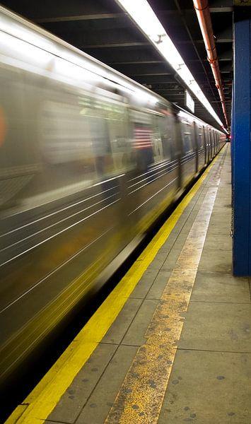 Subway New York van Guido Akster