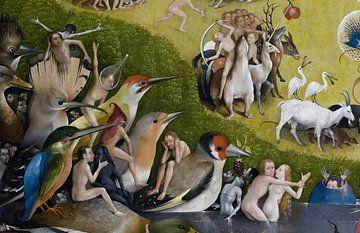 Der Garten der Lüste  (Detail, 1490) - Bosch