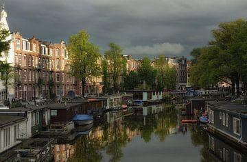Herfst in Amsterdam van Hans Heemsbergen