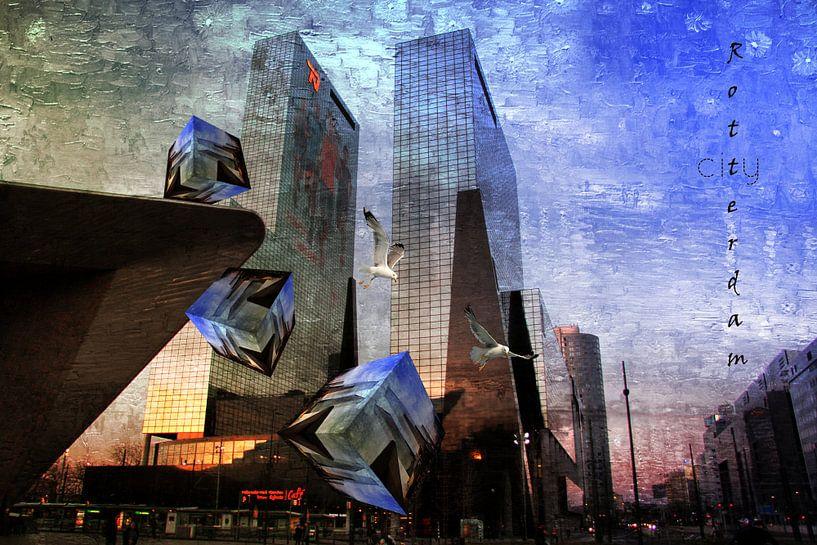 Rotterdam Centrum van Carla van Zomeren