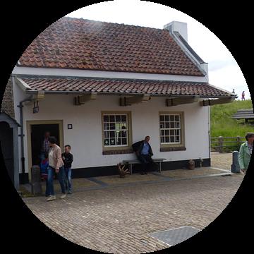 De cafateria in slot loevenstein van Wilbert Van Veldhuizen