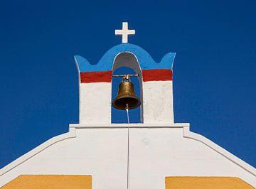 Kirchenglocke auf Santorin, Griechenland von Adelheid Smitt