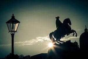 Paarden standbeeld