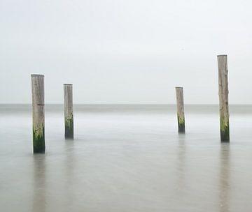 Nordseeküste von Jeannette Kliebisch
