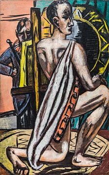 Akademie I, Max Beckmann, 1944