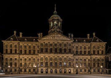 Koninklijk Paleis op de Dam Amsterdam van Mario Calma