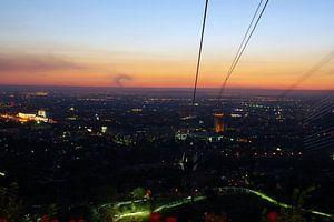Kok Tobe hill, Almaty, Kazachstan van