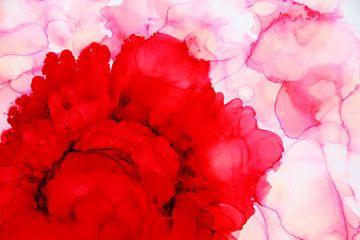 Rose / Roos Abstract van