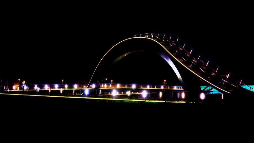 Melkwegbrug in Purmerend van Jan van der Knaap