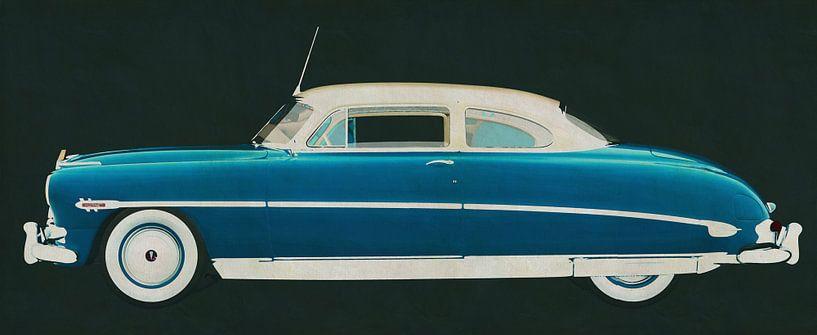 Hudson Hornet Coupé 1953 van Jan Keteleer