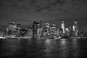 New York Skyline van Menno Heijboer