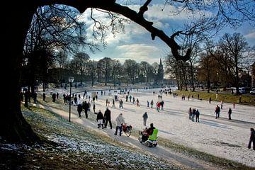 Winterscene von Harrie Muis