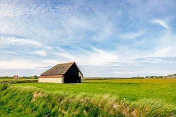 schapenboet Texel Zuid-Haffel van Texel360Fotografie Richard Heerschap