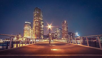 Rotterdam kop van zuid, Rijnhavenbrug van Dennis Donders
